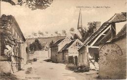 60 - Airion  (oise) - La Rue De L'Eglise - France