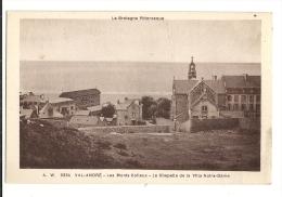 Cp, 22, Le Val André, Les Monts Colleux, La Chapelle De La Villa Notre-Dame, Voyagée - Autres Communes