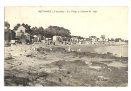 Cp, 29, Bénodet, La Plage à L'heure Du Bain, Voyagée - Bénodet