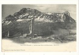 Cp, 38, Env. De Grenoble, La Tour Sans Venin, Et Le Moucherotte - Grenoble