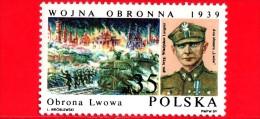 Nuovo - POLONIA - 1989 - 50 Anni Della II Guerra Mondiale - Invasione Della Polonia - Wladyslaw Langner - 35 - 1944-.... República