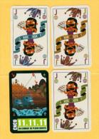 3 Jokers (recto-verso) - Barajas De Naipe