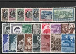 Vatican - Lot Of MNH  And Used - Timbres