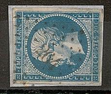 PC 264 BARRAUX Isère. Indice 11 - 1853-1860 Napoleon III