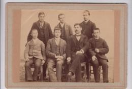 Photo - Groupe D'hommes - Elèves Avec Leurs Professeur  ? - Personnes Anonymes