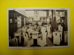 Halle, Lounge, Grand Hotel Belvedere, Wengen, Berner Oberland, 1926, Hellios Zürich N° 524 - BE Bern
