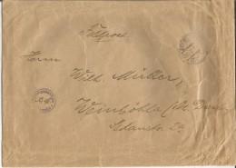 Feldpost Germany 1940-th Letter Brief Kriegsgefangenenpost Prisoner Of War Lager Camp WWII - 1939-45