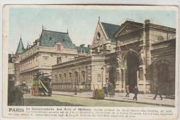 CPA PARIS 3° ARRONDISSEMENT - Le Conservatoire Des Arts Et Métiers Rue Saint Martin - Paris (03)