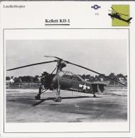 Helikopter.- Kellett KD-1. - VS. Verenigde Staten. USA. 2 Scans. Hélicoptère. Helicopter. - Oude Documenten