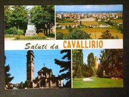 PIEMONTE -NOVARA -CAVALLIRIO -F.G. LOTTO N°487 - Novara