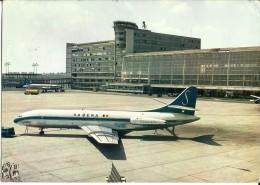 Belgium - Bruxelles - National Airport - Airplane, Plane, Aereo - 1968 - Aeroporto Bruxelles