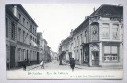 Sint Niklaas Waas 1907 Ankerstraat Rue De L´Ancre Apotheek L. MAILLET Anime - Uitg. Poot, Saint Nicolas - Sint-Niklaas