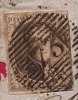 BR-7265       P 73   LIEGE   16-2-61   Groot Fragment    Naar      SPA - 1851-1857 Medallones (6/8)