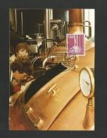 BRD 1982  Mi.Nr. 1135 , Bier-Brauanlage - Maximum Karte - Ausgabetag Stempel Bonn 16.06.1982 - - Biere