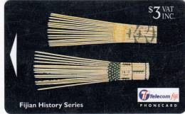 FIJI ISL.(GPT) - Fijian Histarical Artifacts/I Serusasa, CN : 23FJB, Used - Fiji