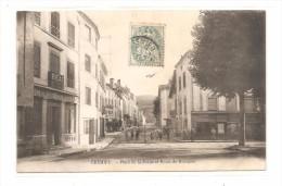 CREMIEU  ( Isere   )    Place De La Poype Et Route De Bourgoin - Francia
