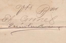 E3061 CUBA INDEPENDENCE WAR 1902 SIGNED DOC CORONEL QUINTIN BRAVO. - Autographs