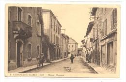DT ETIENNE DE ST GEOIRS    ( Isere   )   Rue  Et MAISON  CHENAVAZ - Francia