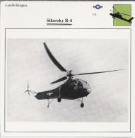 Helikopter.- Sikorsky R-4 - VS. Verenigde Staten. USA. 2 Scans. Hélicoptère. Helicopter. - Helikopters