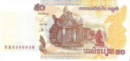 Cambodia - Pick 52 - 50 Riels 2002 - Unc - Cambodge