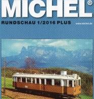 Briefmarken MICHEL Rundschau 1/2016-plus Neu 6€ New Stamps World Catalogue / Magacine Of Germany ISBN 978-3-95402-600-5 - Badges