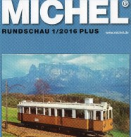 Briefmarken MICHEL Rundschau 1/2016-plus Neu 6€ New Stamps World Catalogue / Magacine Of Germany ISBN 978-3-95402-600-5 - Pin's