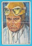 ALBERTO ASCARI - Italy Formula 1 Champion ( Yugoslavian Vintage Sticker ) F1 Automobile Auto Voiture Automobil Autos - Car Racing - F1