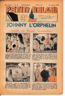 Hebdo.  PETITS BELGES.    N°41   -  10 Octobre 1938.   (BD-Johnny L´Orphelin) - Kranten