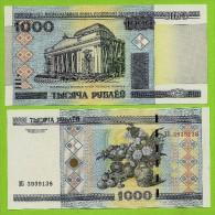 **  BELARUS  -  1 000  RUBLEI  2000  ( 2011 )   UNC  - P#28 b -  **
