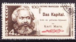 Karl Marx-URSS 1967-Usato - Karl Marx