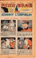 Hebdo.  PETITS BELGES.    N°42   -  16 Octobre 1938.   (BD-Johnny L´Orphelin) - Kranten