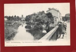 VAR 83 SAINT RAPHAEL LA GARONNE ET VIEILLE EGLISE - Saint-Raphaël