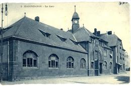 57 - Moselle - Hagondange, La Gare - Hagondange
