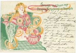 Chocolat De L'Union Des Patrons Boulangers De Belgique - 1901 - Publicité