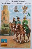ESERCITO ITALIANO CAVALLERIA 34 RADUNO SALERNO 1994 - Regiments