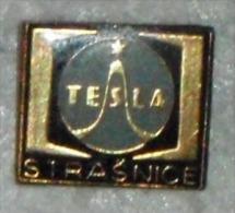 Nikola TESLA Company Czechoslovakia Electronic Industry Strasnice Pin Badge - Trademarks