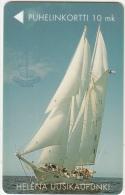 "FINLAND - Ship ""Helena"", Turun Puhelin telecard, tirage 1000, exp.date 06/99, used"