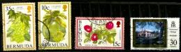 Bermudes Scott N°670.675.671.733.oblitérés - Bermudes
