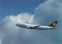 Airplanes Postcard: Boeing 747-200 Lufthansa - Mint (SKO1-14) - Unclassified