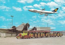 Airplanes Postcard: Flughafen Frankfurt Am Main Lufthansa - Mint (SKO1-14) - Unclassified