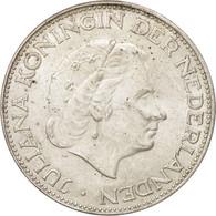 Pays-Bas, Juliana, 2-1/2 Gulden, 1966, SUP+, Argent, KM:185 - [ 8] Monnaies D'or Et D'argent