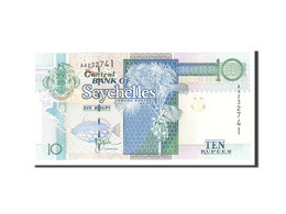 Seychelles, 10 Rupees, 1998, KM:36a, Undated, NEUF - Seychelles