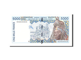 West African States, 5000 Francs, 1994, KM:613Hb, Undated, NEUF - West African States