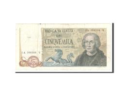 Italie, 5000 Lire, 1968, KM:98b, 1968-01-04, TB - [ 2] 1946-… : Repubblica