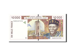 West African States, 10,000 Francs, 1994, KM:614Hb, Undated, NEUF - West-Afrikaanse Staten