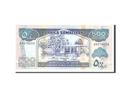 Somaliland, 500 Shillings = 500 Shilin, 1996, KM:6b, Undated, NEUF - Somalia