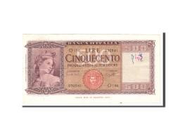 Italie, 500 Lire, 1961, KM:80a, 1961-03-23, TB - [ 2] 1946-… : Républic