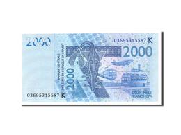 West African States, 2000 Francs, 2003, KM:116Aa, 2003, NEUF - États D'Afrique De L'Ouest