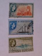 BARBADES / BARBADOS   1953-7  LOT #2 - Barbades (1966-...)
