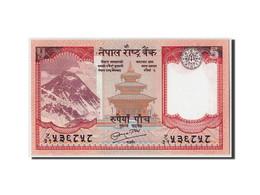 Népal, 5 Rupees, 2008, KM:60, Non Daté, NEUF - Nepal
